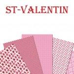 Image comestible St-Valentin