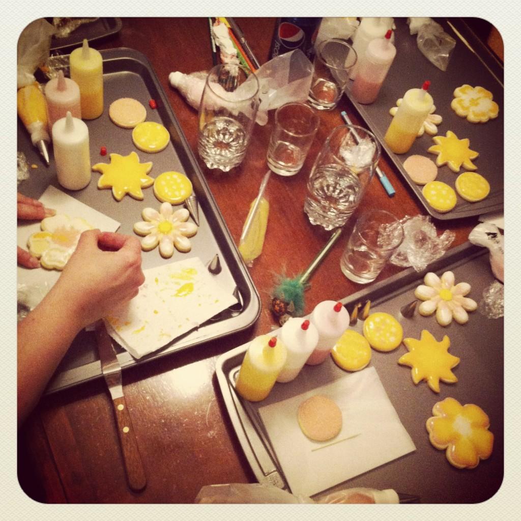Cours de biscuits décorés