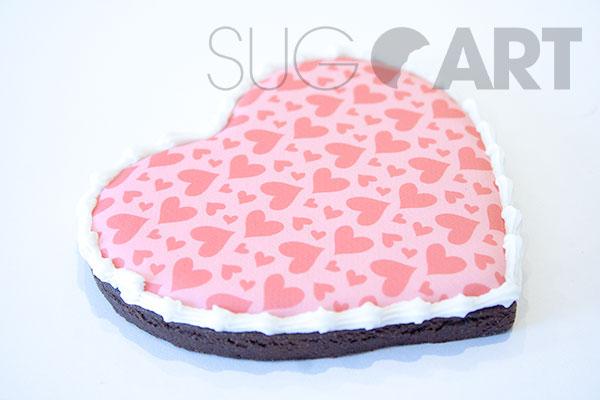 Biscuit emporte-pièce de St-Valentin