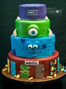 Gâteau Monster University