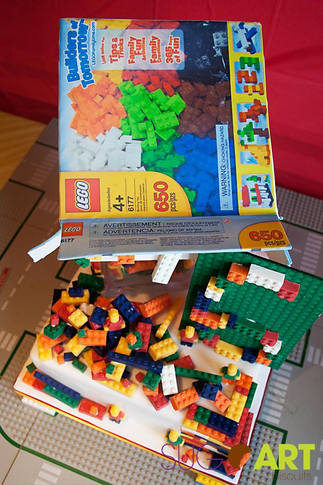 Edible LEGO box / Boite LEGO avec image comestible
