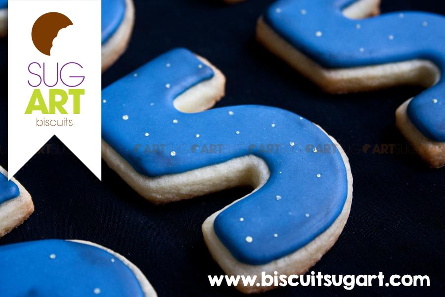 Biscuits ciel étoilé / Tutoriel