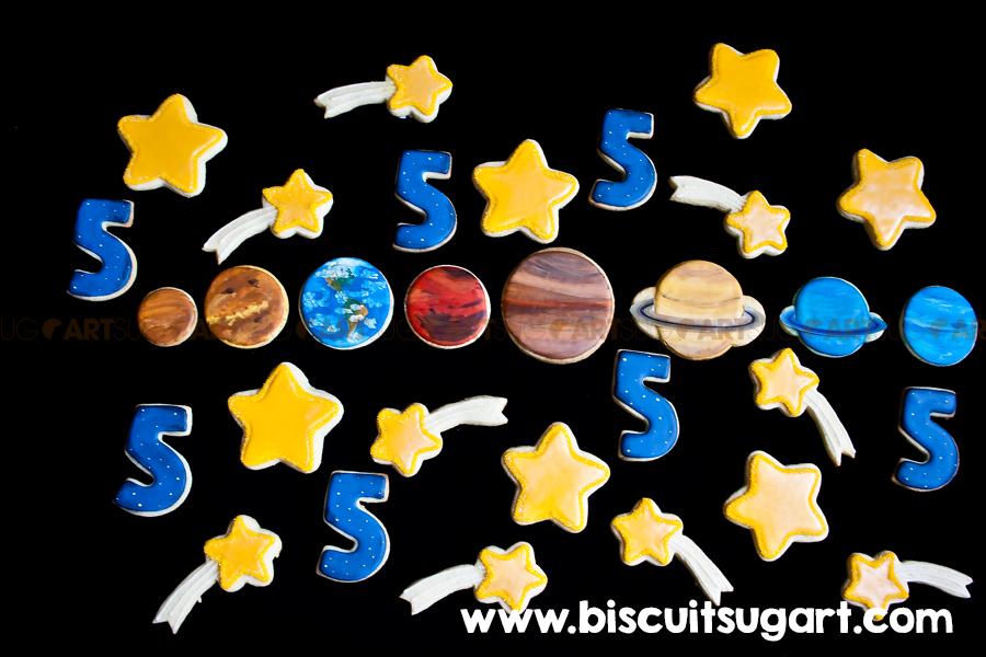 Biscuits planètes