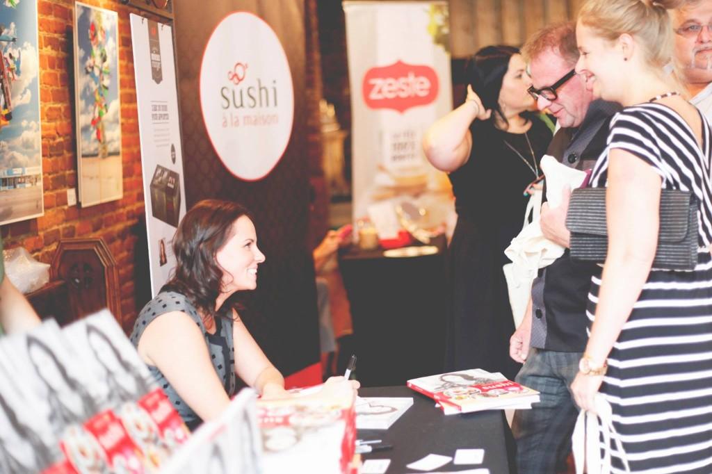 Photo par Maggie Boucher, qui est également la photographe du livre Sushi à la maison.