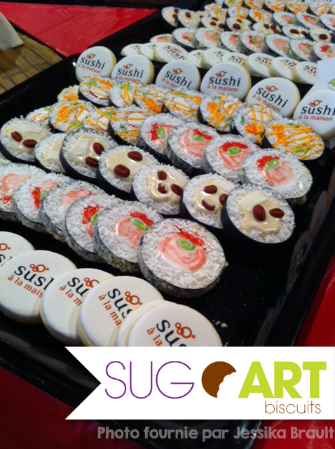 Biscuits sushi