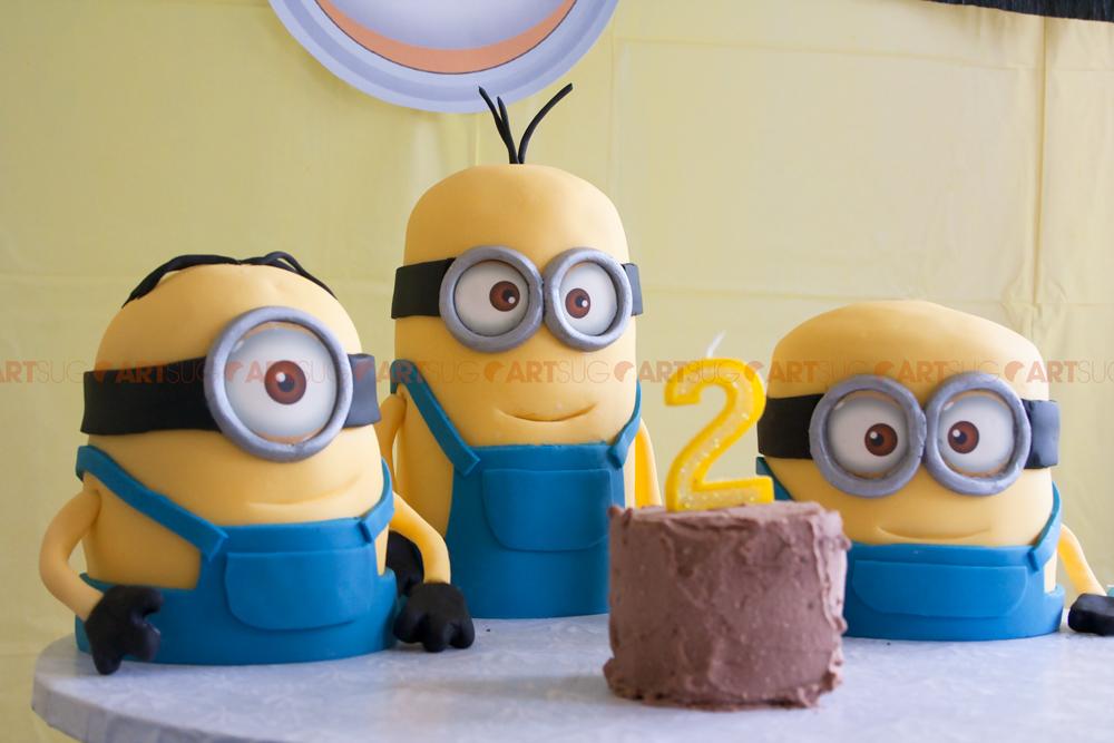 Gâteau Minions Cake