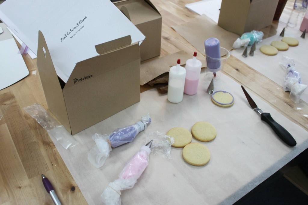 Cours biscuits décorés