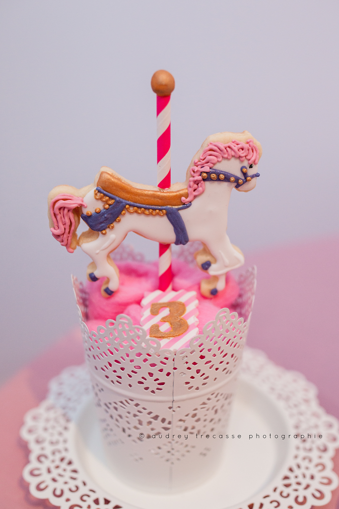 Anniversaire carrousel -Biscuits