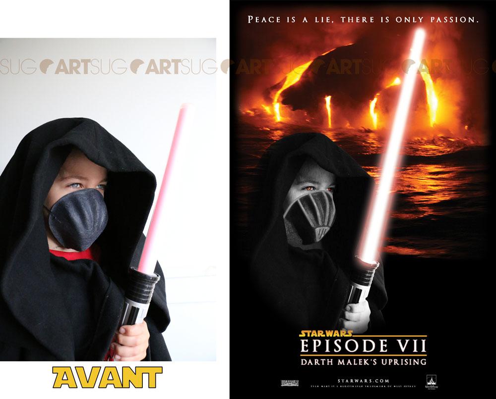 Poster Star Wars Malek