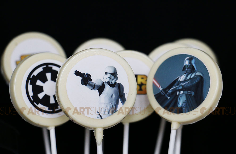 Chocolat Star Wars - image comestible