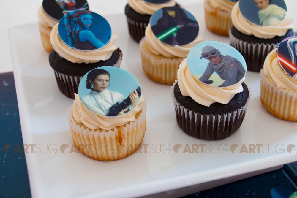 Cupcakes Star Wars filles