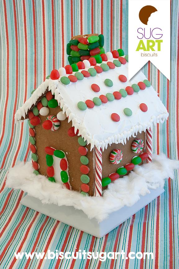 Maison Pain D Epices Noel Biscuits Sug Art