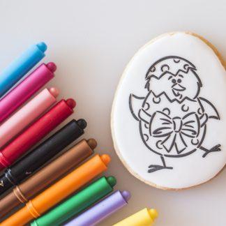 Biscuits à colorier de Pâques