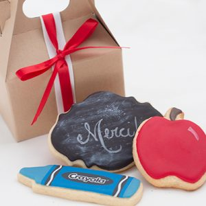 Boite biscuit fin des classes