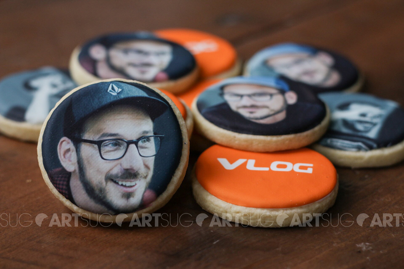 Dominic Arpin a eu sa photo sur des biscuits!