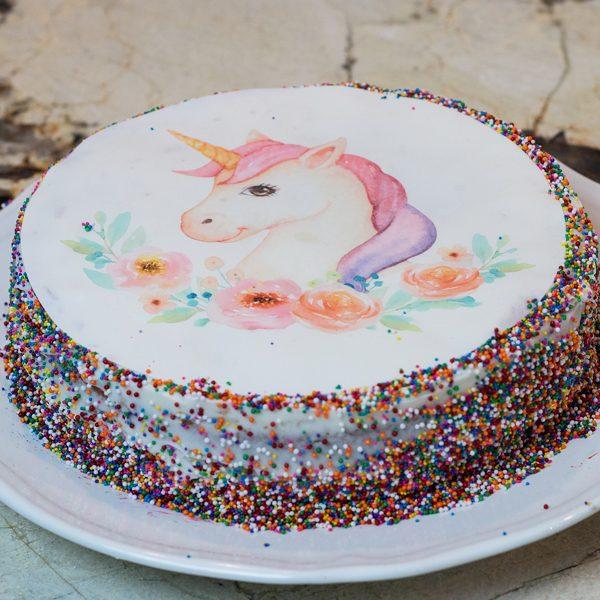 Comment faire un gâteau de licorne facile
