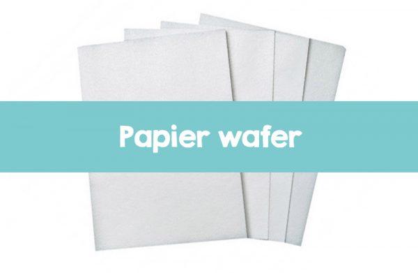 Wafer paper imprimé sur mesure