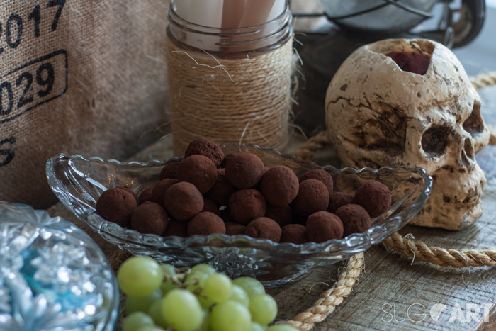 Truffes sans sucre ni produits laitiers