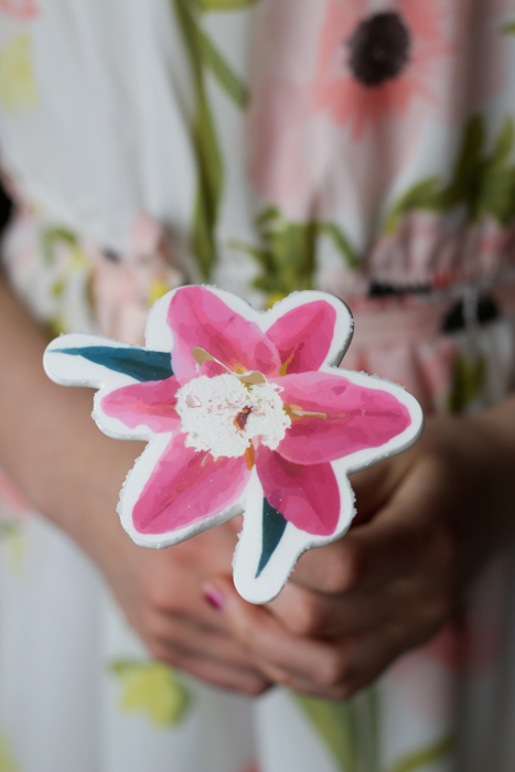 Meringue de fleur sur bâton #fail
