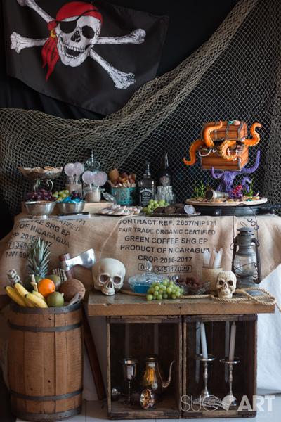 Idées de décoration et desserts pour une fête de pirate