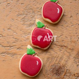 Trio de mini biscuits décorés pour la fin des classes