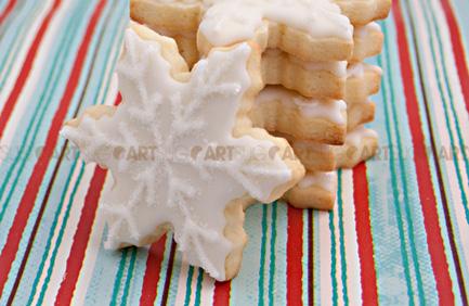 Biscuits au sucre pour Noël par Biscuits Sug'Art
